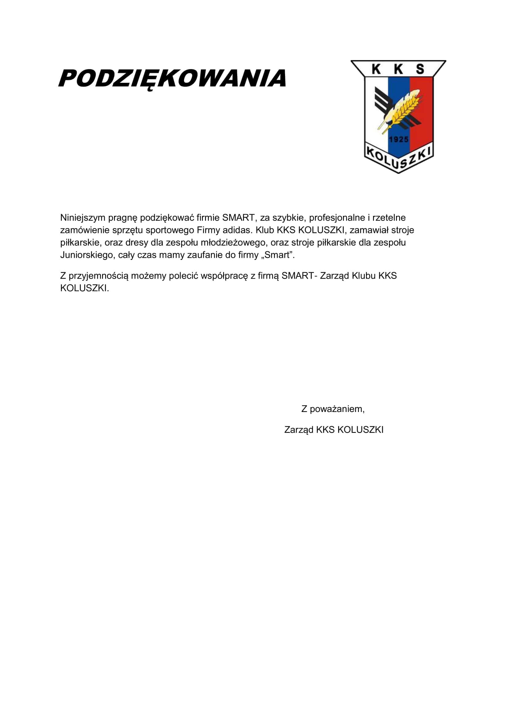 6cc333413 Referencje - sklep piłkarski StrojeSportowe.eu