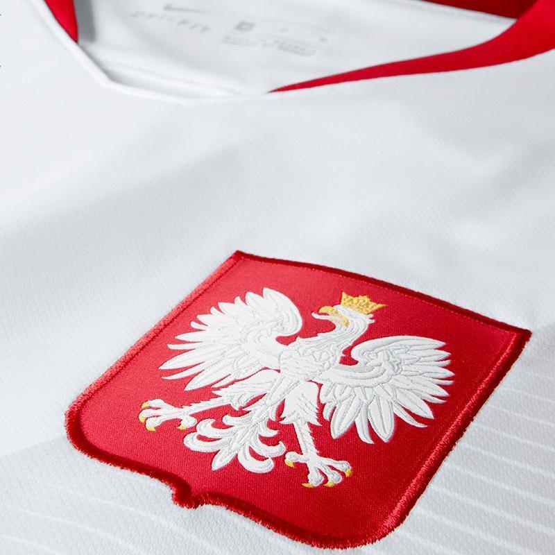 Nike Oficjalna Koszulka Reprezentacji Polski Stad JSY MŚ 2018