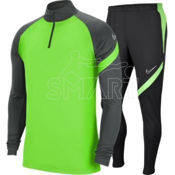 Nike dres Academy Pro Top Suit (zielono/szary)