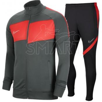 ike dres Academy Pro Suit (szaro/czerwony)