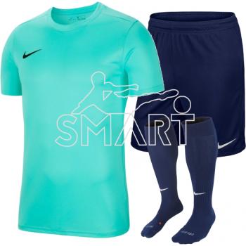 Nike Park VII (turkusowy) komplet piłkarski