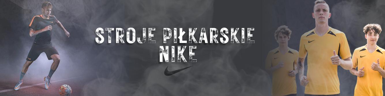 Stroje piłkarskie Nike - StrojeSportowe.pl