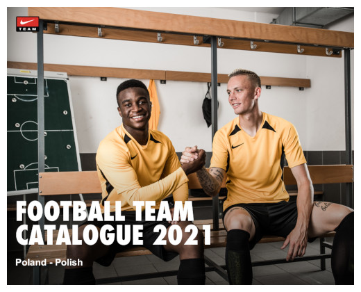 Katalog Stroje Piłkarskie Nike 2021