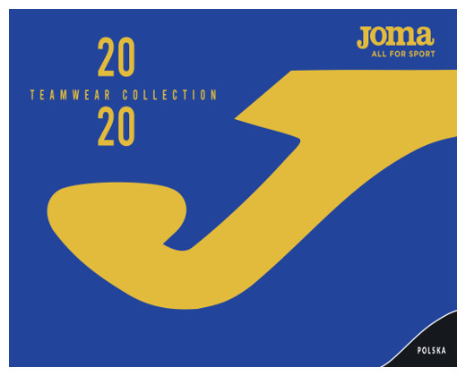 Katalog stroje piłkarskie Joma 2020