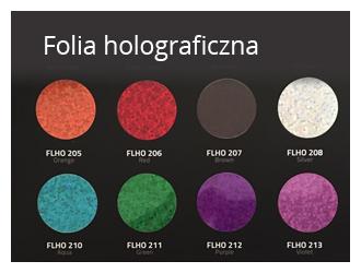 folia holograficzna